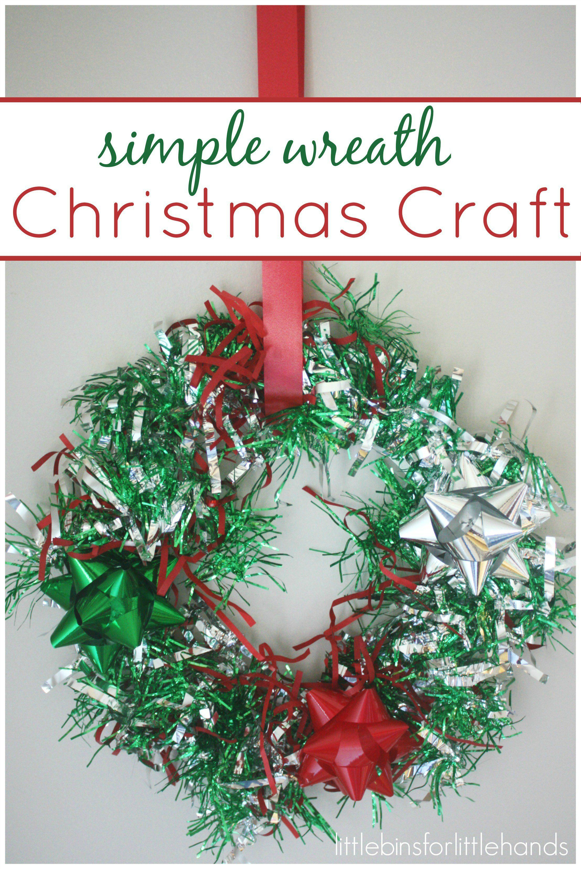 best Quick And Easy Kindergarten Christmas Crafts image collection