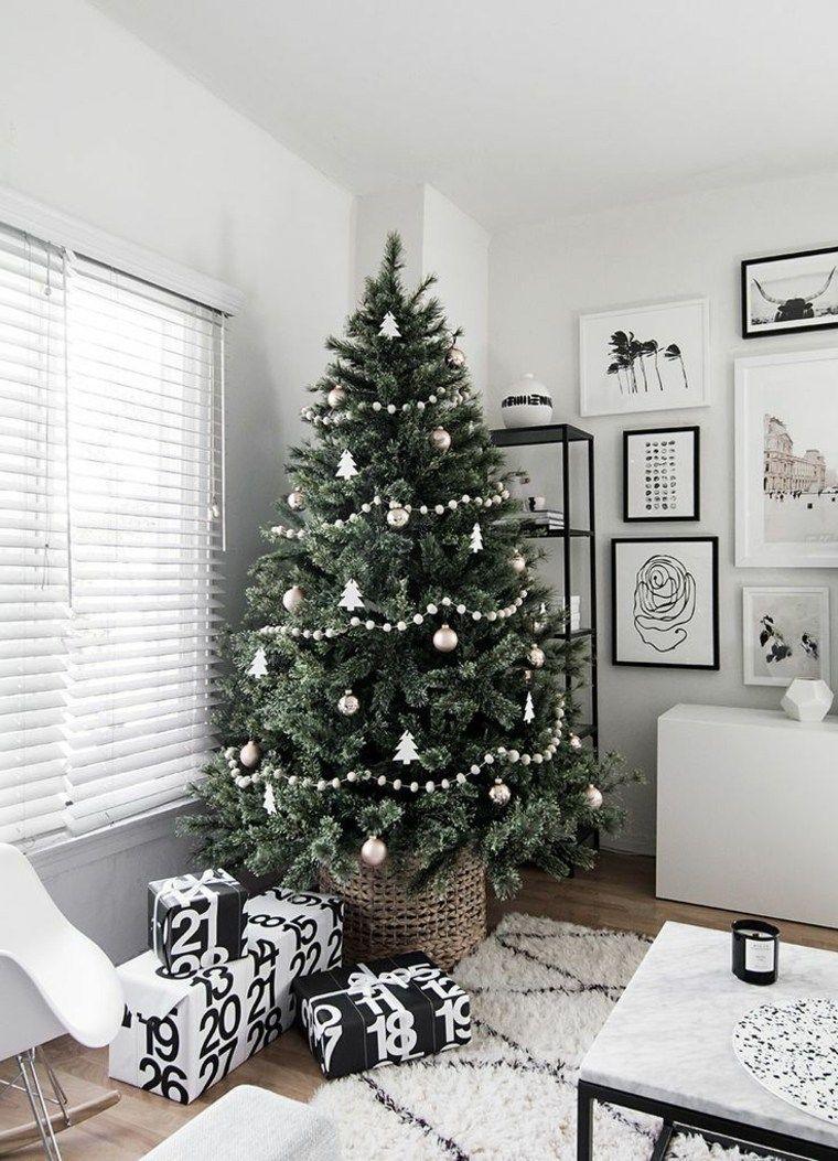 Decoración Navideña Original Y Moderna Conoce Las Tendencias Nuevo Decoracion Ideas De Decoración De Navidad Pinos De Navidad Naturales Ideas Para Arboles De Navidad