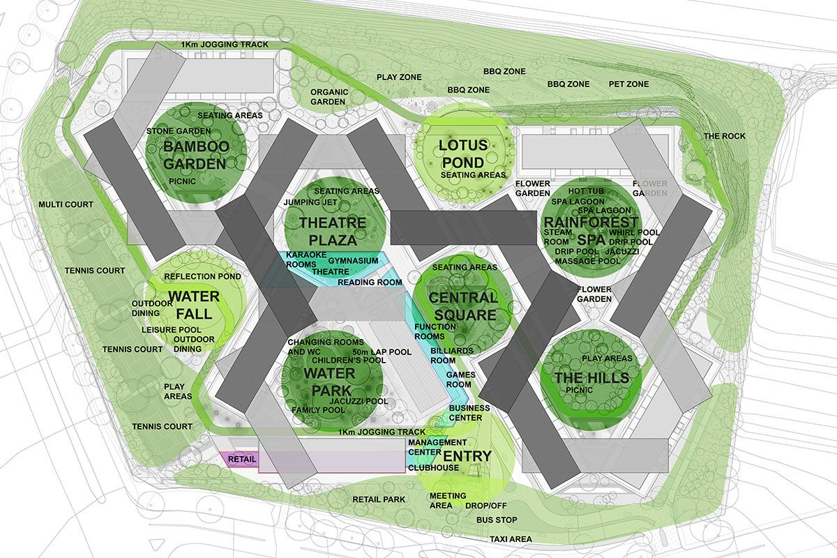 Arch2o The Interlace Oma Ole Scheeren 03 Arch2o Com World Architecture Festival Urban Planning How To Plan