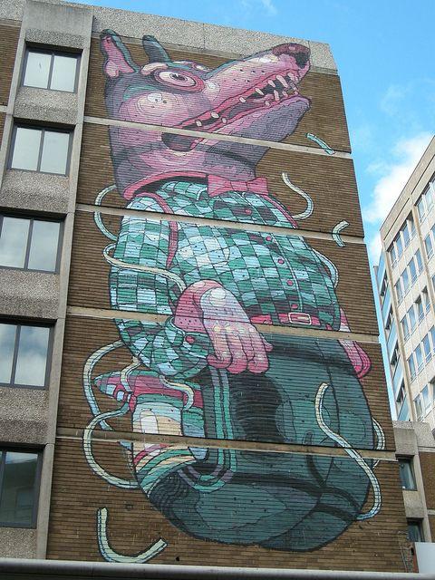 'See No Evil', Bristol - Aryz (Barcelona) | Flickr - Photo Sharing!