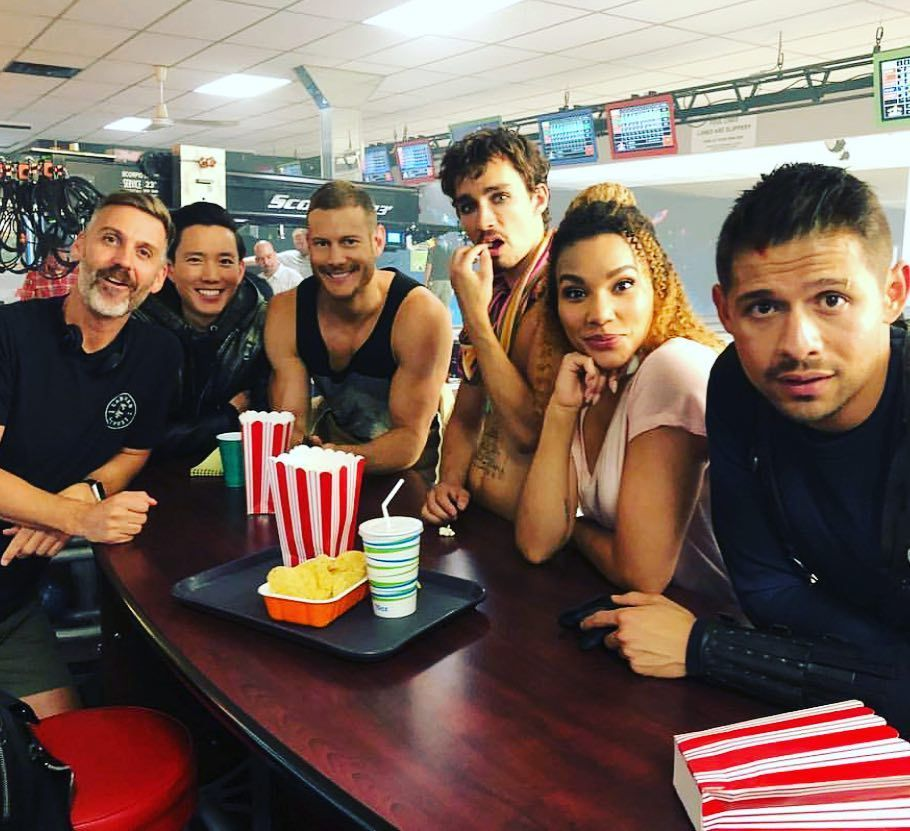 Tom Hopper On Instagram The Bowling Alley Scene In Ep10 Was One Of The Most Fun To Shoot In Umbrellaacad We Shot It On Some Of Umbrella Academy Tom Hopper