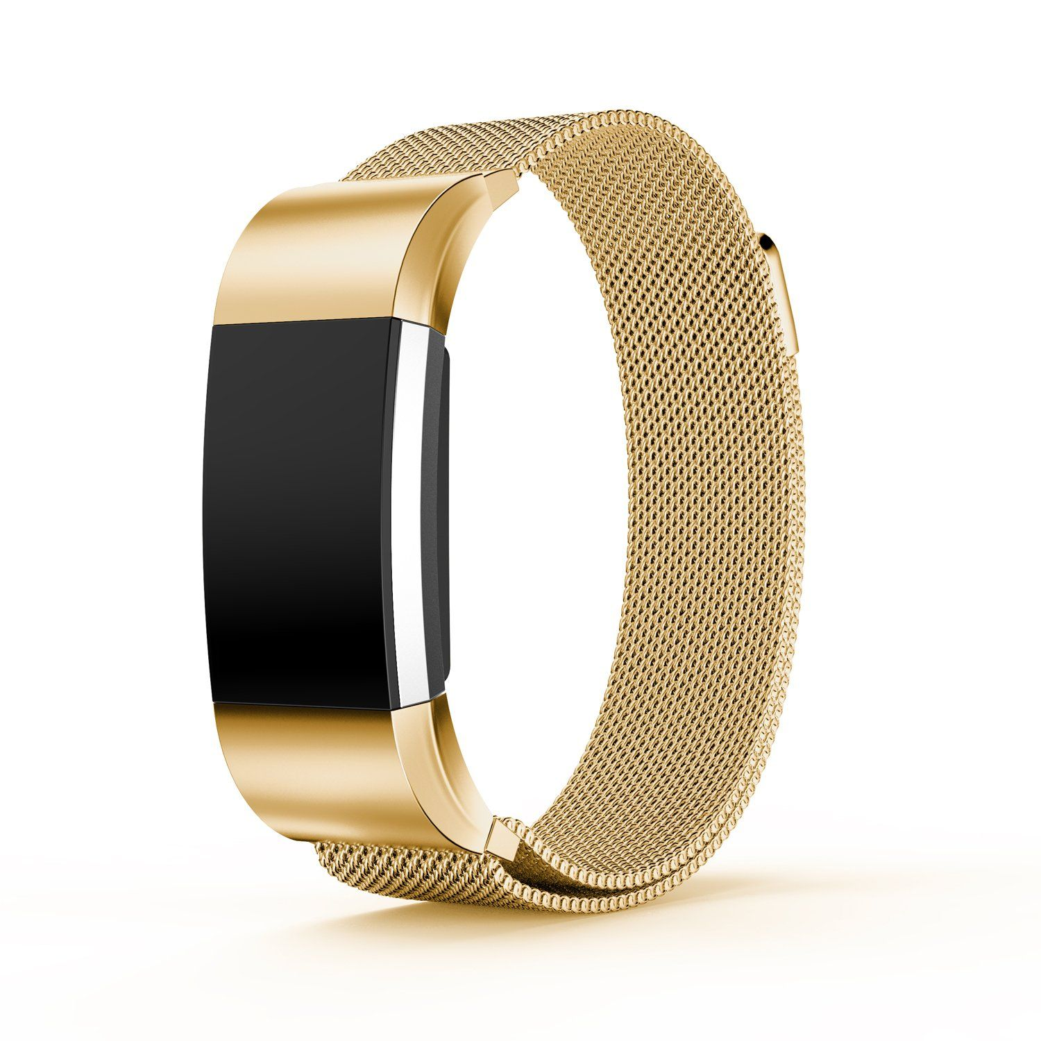 Ismile bands for fitbit charge milanese loop stainless steel