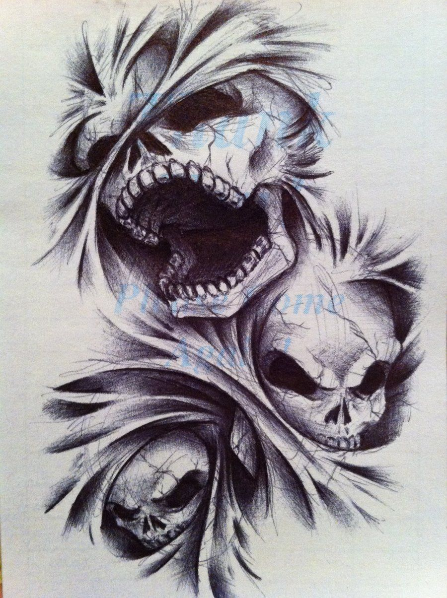 Angels And Demons Tattoos  Demon Neko Of Hell Tattoo Design I Did