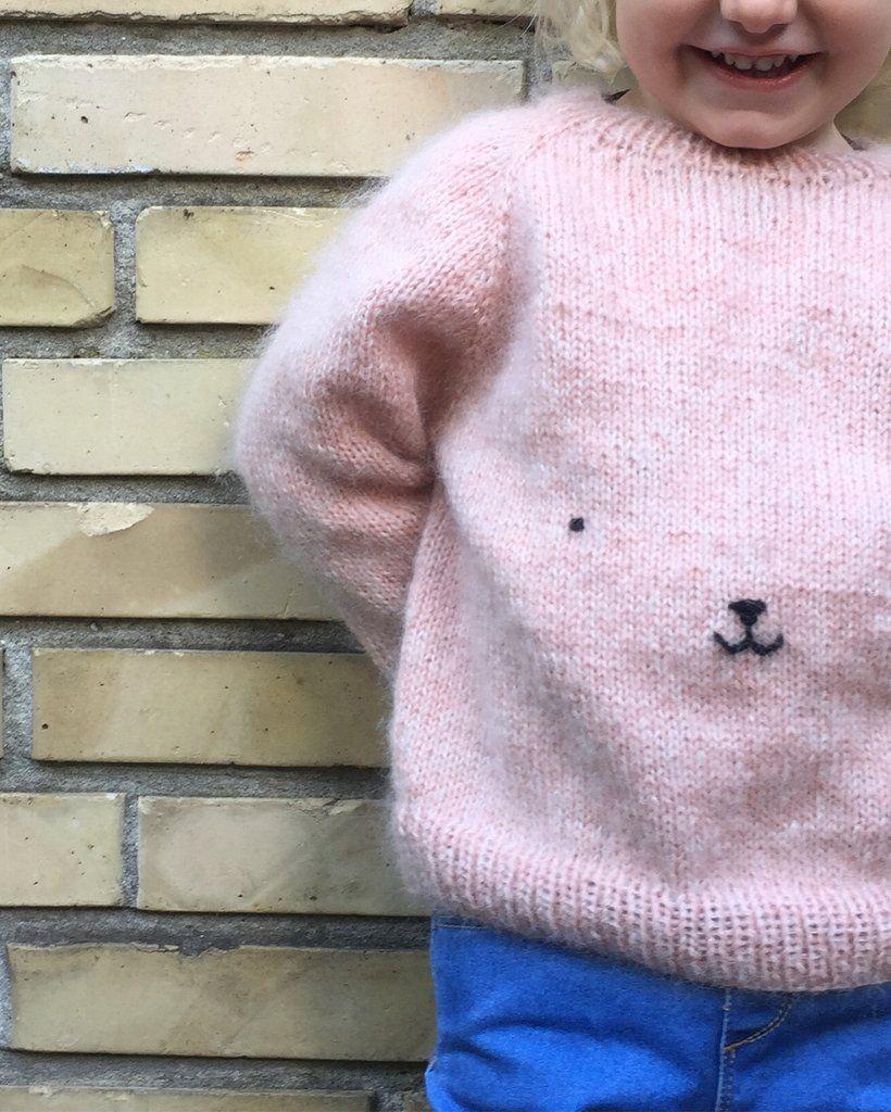 Teddy Bear Sweater   Kids knitting patterns, Knitting ...