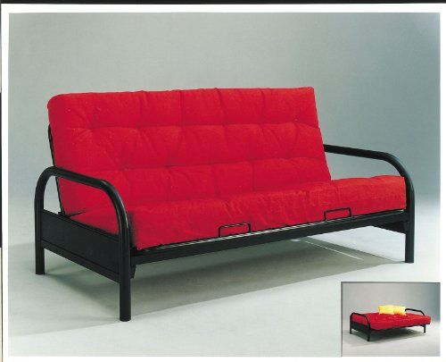 Acme 02172ABK Alfonso Arm Span Futon Black >>> See this great ...