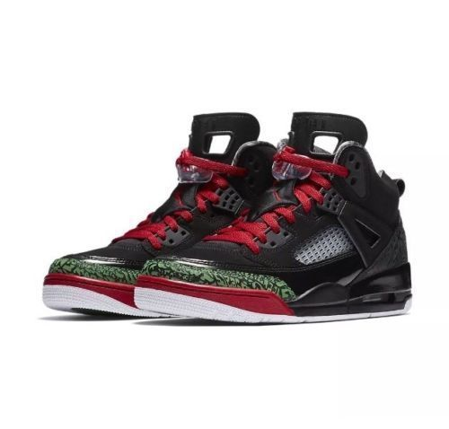 825bdc311542 Jordan Spizike Christmas Mens Basketball Shoes Black Varsity Red  Jordan   BasketballShoes