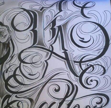 Chicano Lettering Prison Art Font Art Graffiti Alphabet Styles