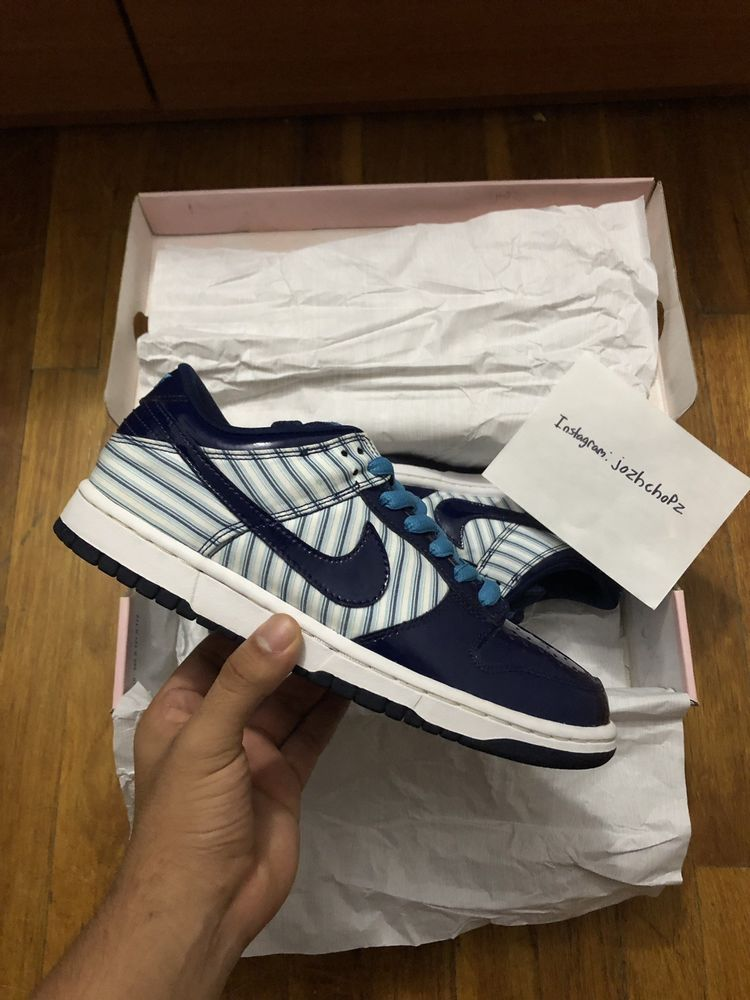 the latest 523c4 df5d6 Nike SB Patent Leather Blue Avenger Sz 8.5  fashion  clothing  shoes   accessories
