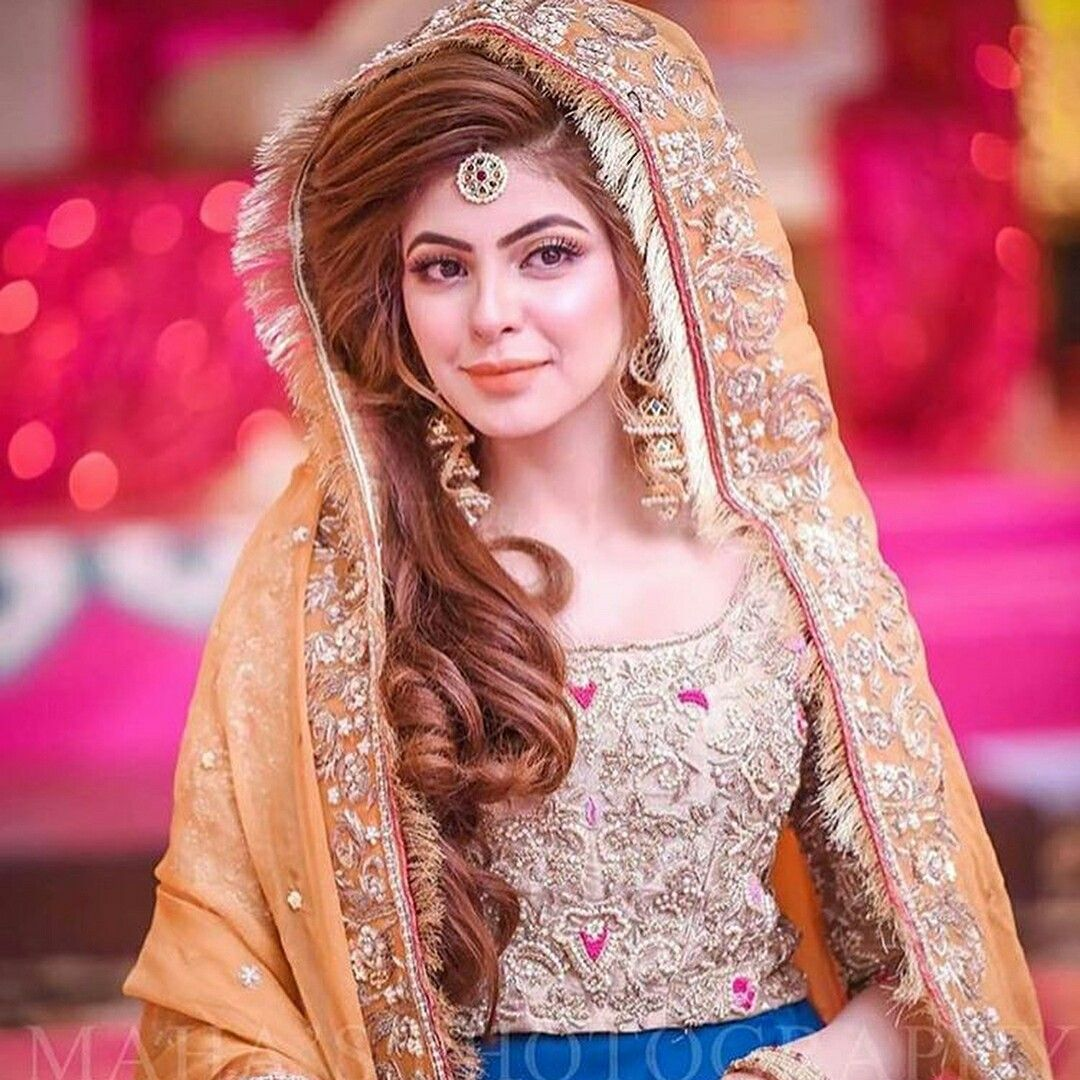 Hairstyles Pakistani Waleema: Pin By Haniya Malik On Bridal Fashion
