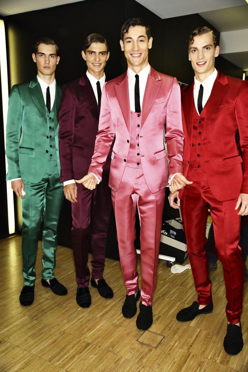 Dolce & Gabbana SS15 Men Fashion Show Milan Backstage | Sonny ...