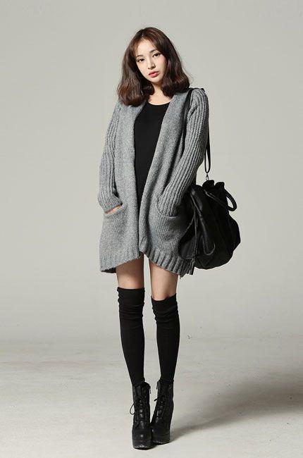 Black dress grey boots 4 you
