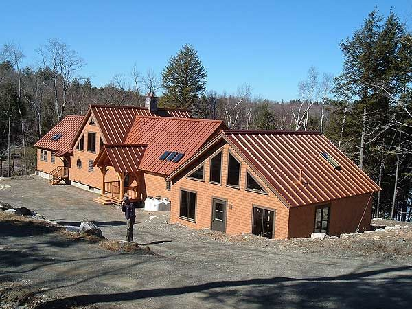 Best Copper Metal Roof Metal Roof Houses Metal Roof Epdm 400 x 300