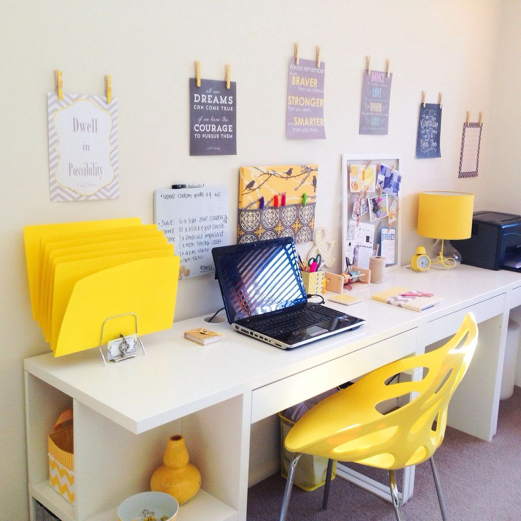 42 Superb Workspace Design Ideas With Ikea Micke Desk That You