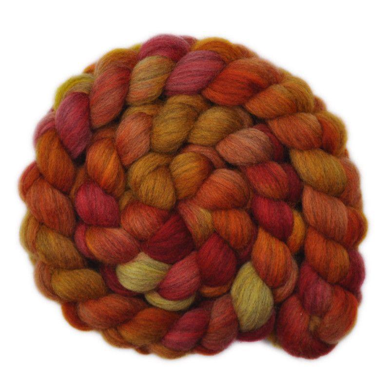 Merino Wool Roving for Felting 1 Ounce Rust