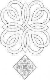46  ideas for hand quilting patterns for beginners embroidery designs  46 ideas ...