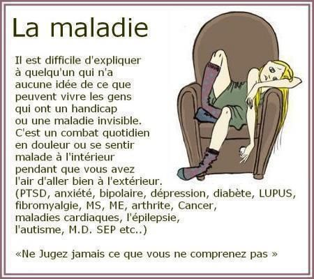 Bekannt La maladie  | Citations | Pinterest | Les maladies, Citation et  UL22