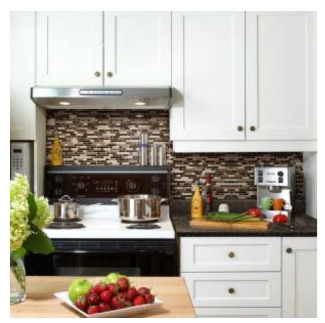 Good Make Your Bathroom Or Kitchen Look Resplendent By Installing Smart Tiles  Mosaik Peel And Stick Bellagio Keystone Decorative Wall Tile Backsplash. Home Design Ideas