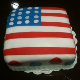 Memorial Day Cake With Images Patriotic Cake