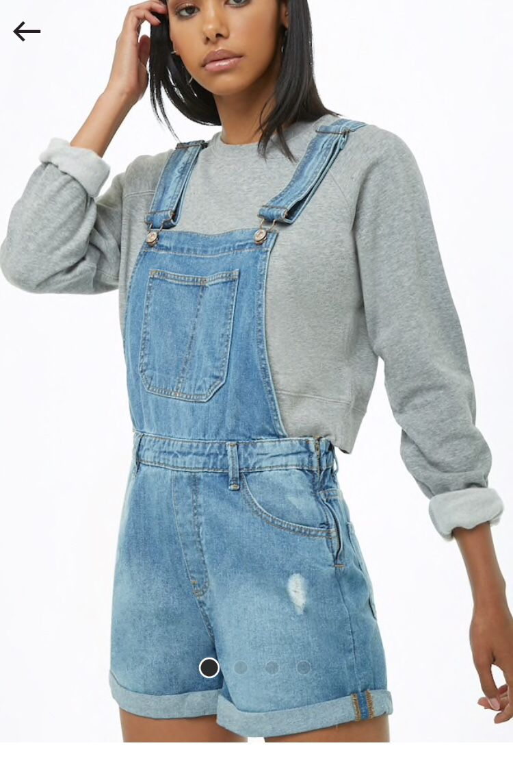 f9a6dba00 Denim Overalls, Jeans, Overall Shorts, Shop Forever, Forever 21, Cute  Outfits