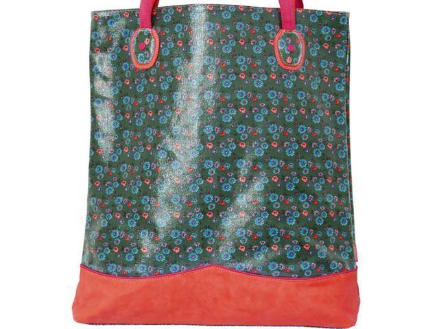 Floral green  - Exclusive Shopping bag - Merk: Rice  - 1