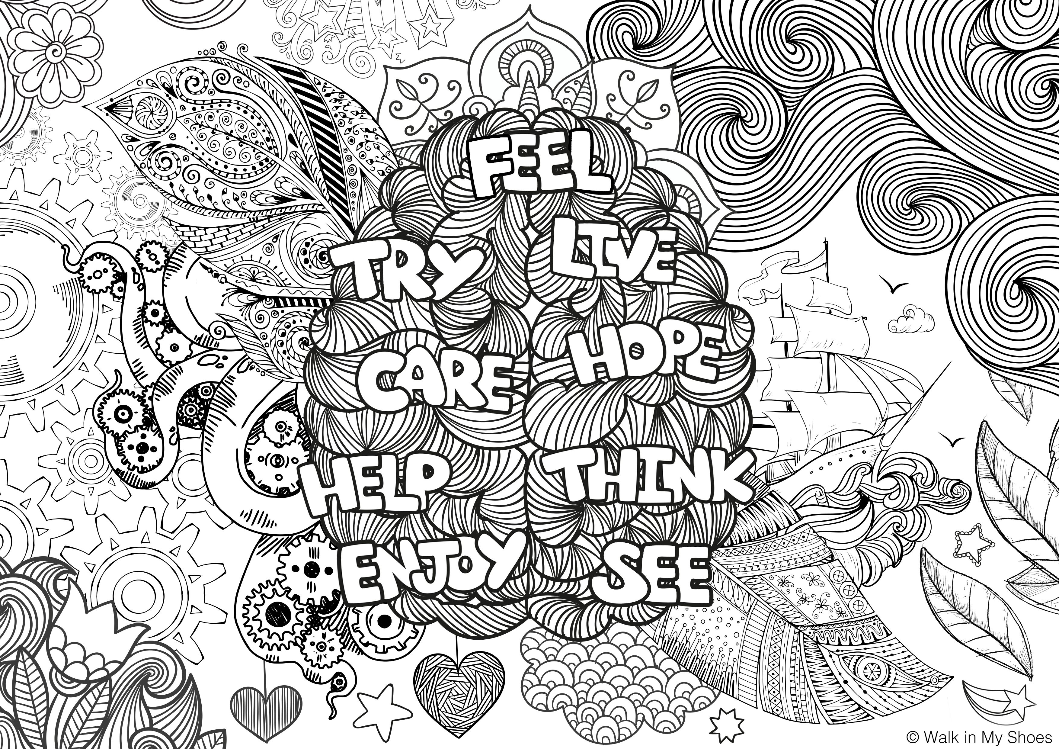 What do you do to #MindYourSelfie?   Mindfulness colouring ...