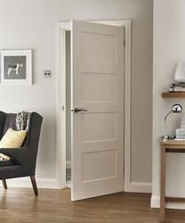 4 Panel Shaker Smooth Door Shaker Interior Doors Interior Door Styles Wood Doors Interior