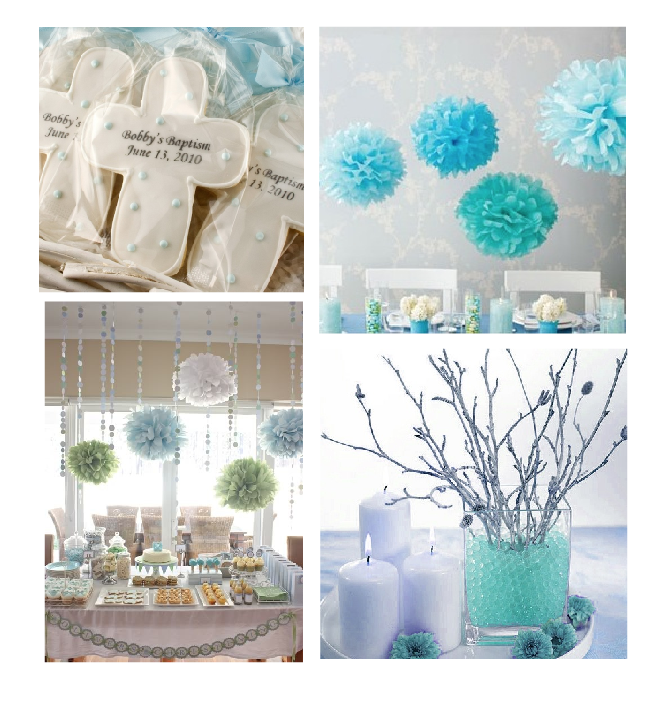 Baby Boy Christening Table Decorations Decoration For Home