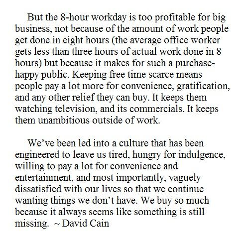 David Cain - Click through for the full article. It's pretty great. :)