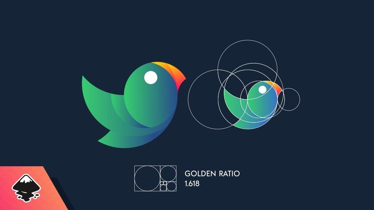 Inkscape Tutorial Golden Ratio Logo Design Golden Ratio Logo Design Golden Ratio Logo Logo Design Art
