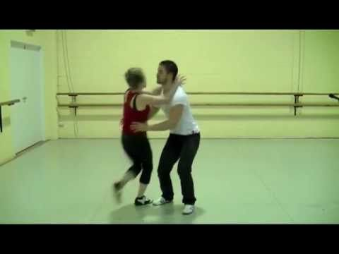 Learn to dance video: the backfall part 1: dance tutorial video.