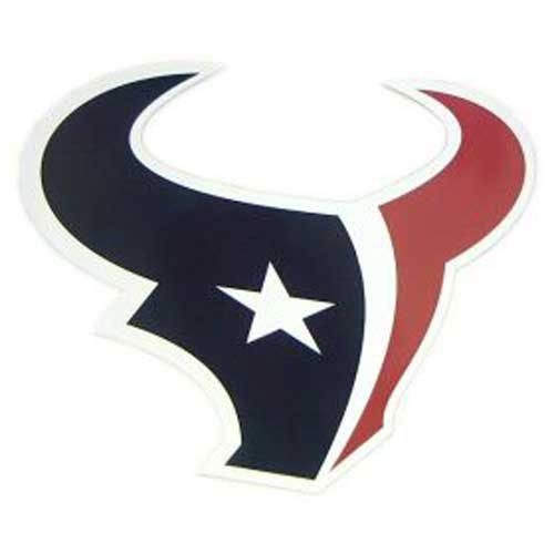 Houston Texans NFL 12 Car Magnet