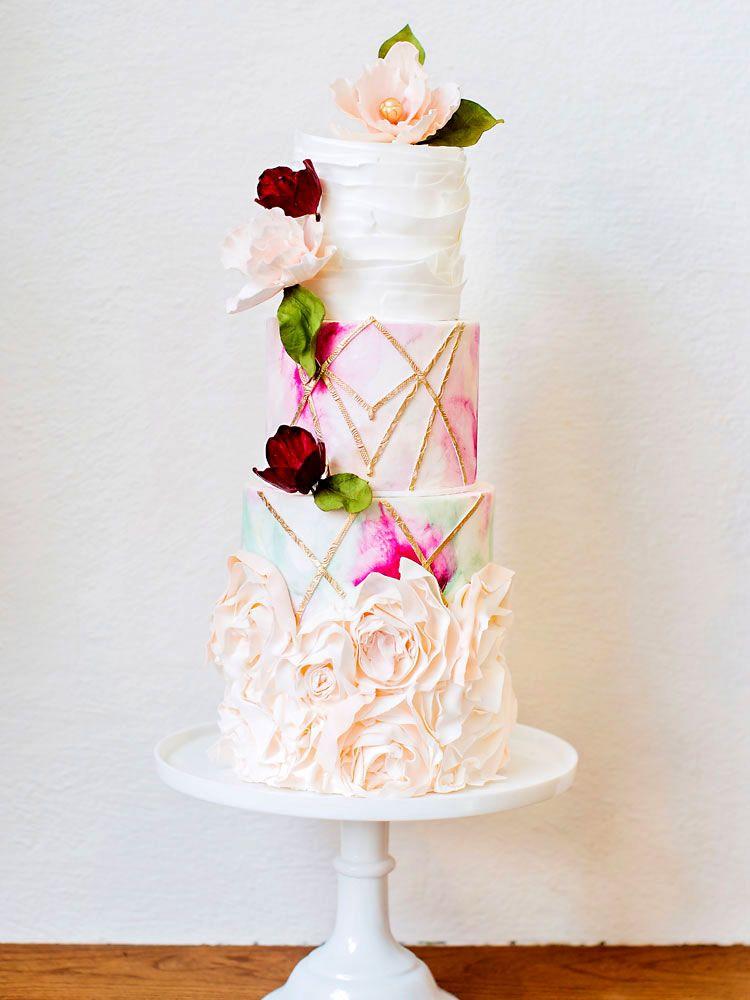 Four Tier Cake Graphic