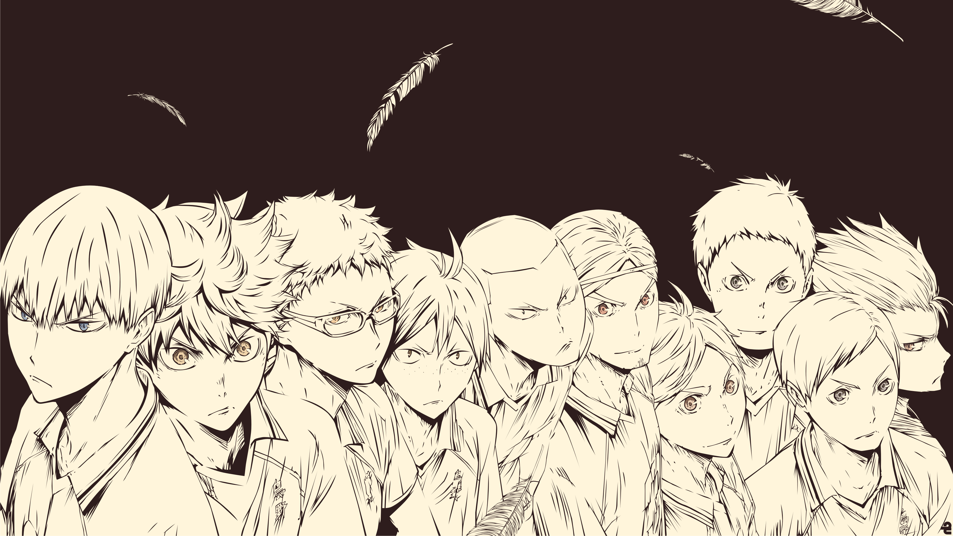 Haikyu Karasuno in 2020 Cute desktop wallpaper, Anime