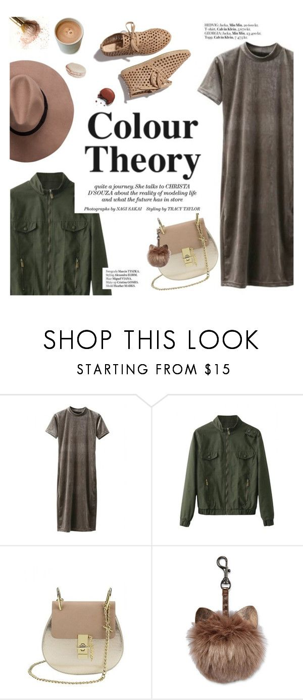 """""""Color theory"""" by punnky ❤ liked on Polyvore featuring Loeffler Randall and Haute Hippie"""