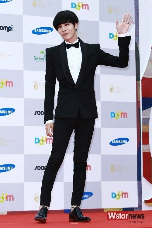 No Min Woo at the Seoul Drama Awards