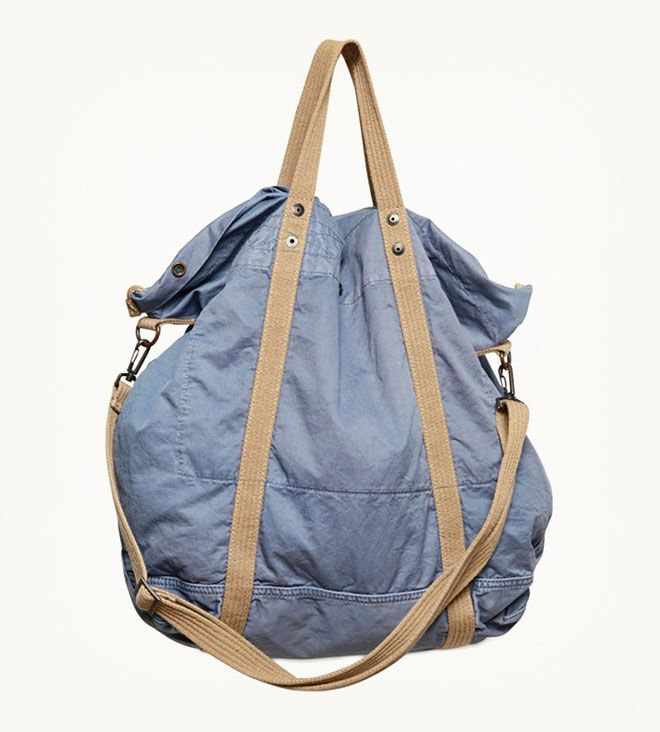 Closed, Slouchy Twill Cotton Shoulder Bag