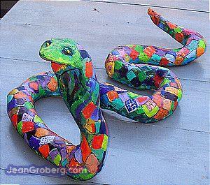 papier mache snakes - Google Search | Crafts and art | Pinterest ...