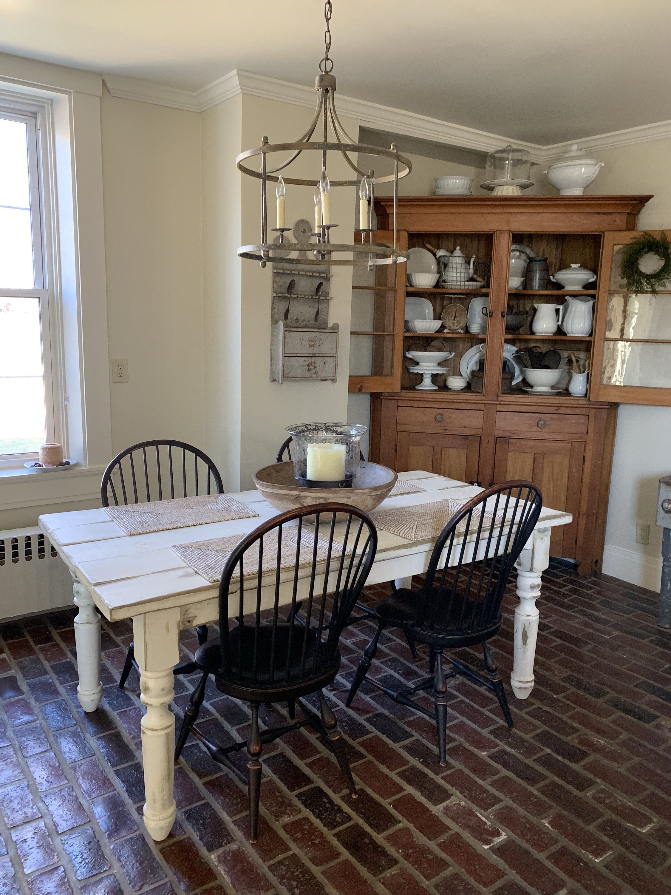 French country rustic farmhouse table reclaimed weathered