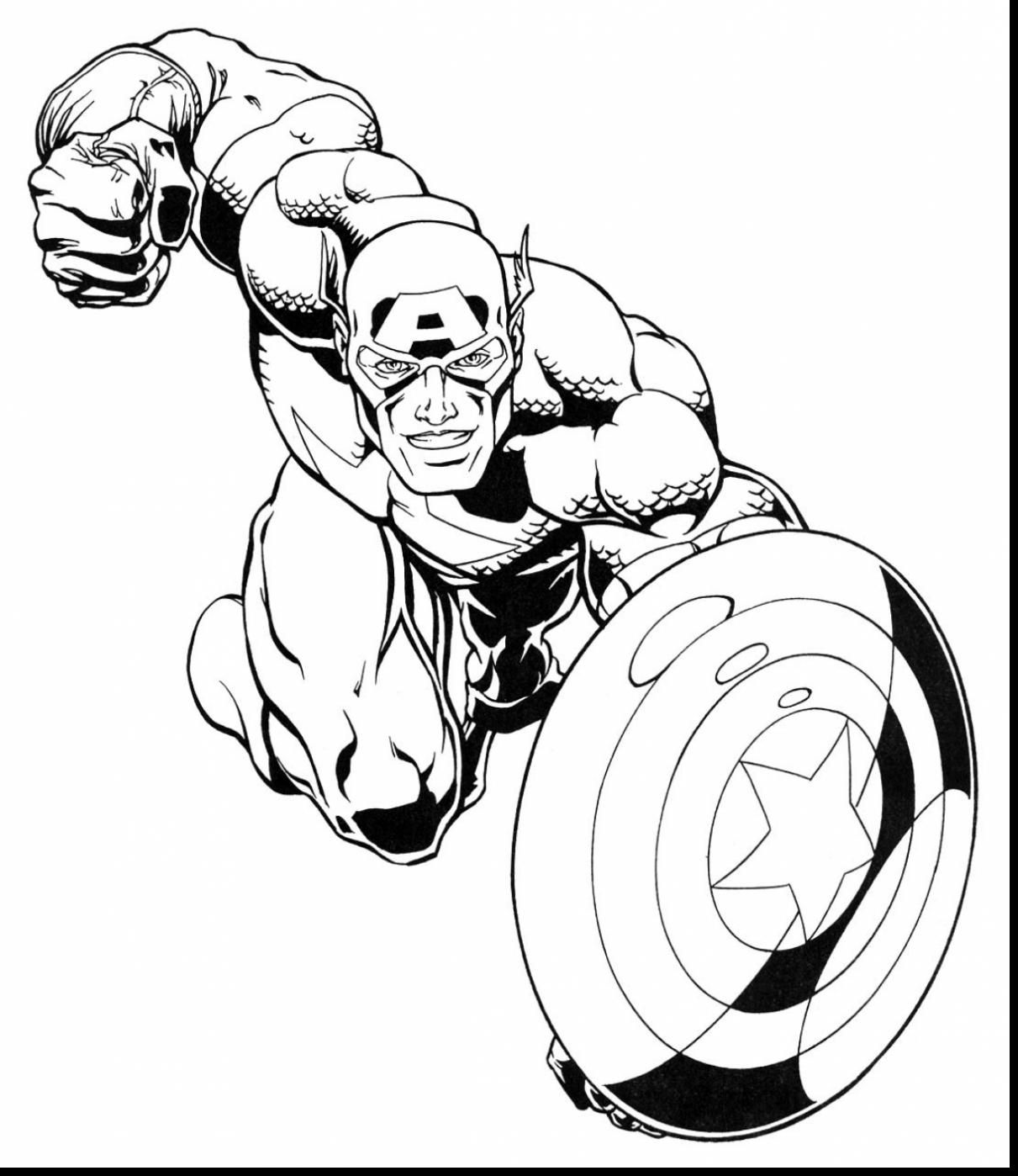incredible marvel super heroes coloring pages with super hero