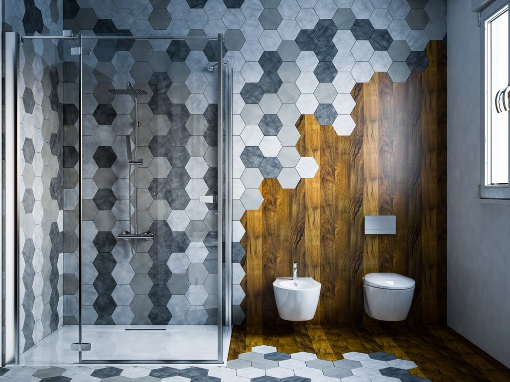 Photo of Moderne badezimmer von mcp-render modern holz holznachbildung   homify