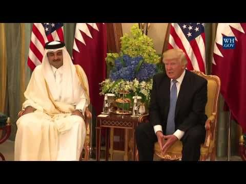 Here's my latest video! President Trump meets with the Emir of Qatar  https://youtube.com/watch?v=TNzPbWvcFtc