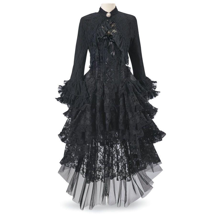 Ophelie black dress womenus romantic u fantasy inspired fashions