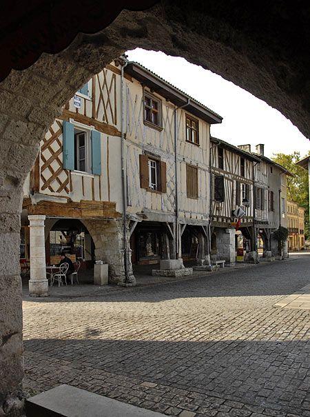 Eymet, near Bergerac in France