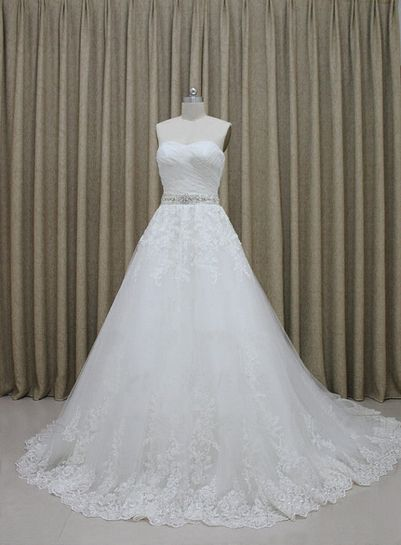 Tailor-Made \'Chantelle\' Wedding Gown £329.99 Available in any size ...