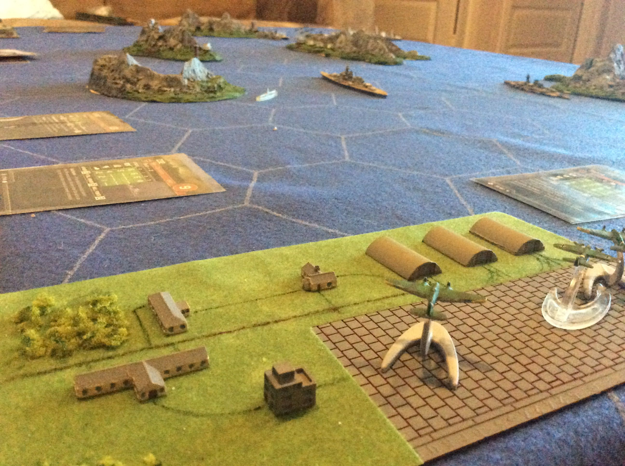 War at sea, axis and allies, convoy scenario , German