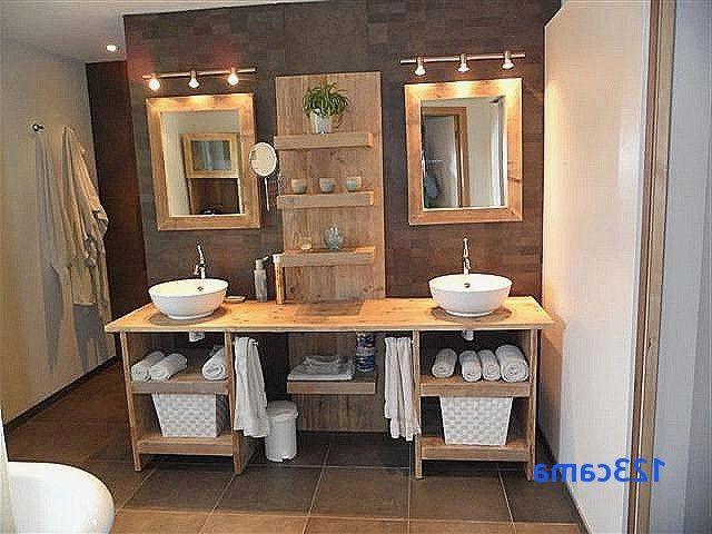 R sultat de recherche d 39 images pour meuble salle de bain - Meuble salle de bain fait maison ...