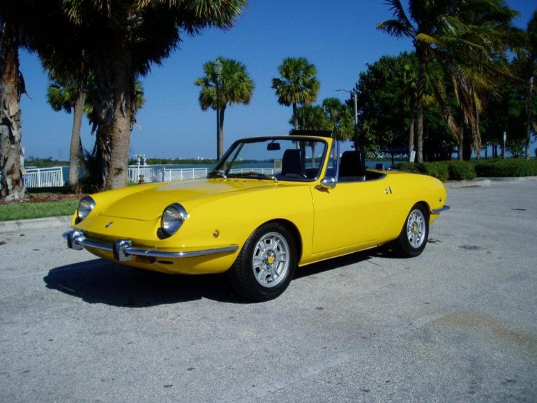 1969 Fiat 850 Spider Sport I Had An Orange One In 1972 Absolutely
