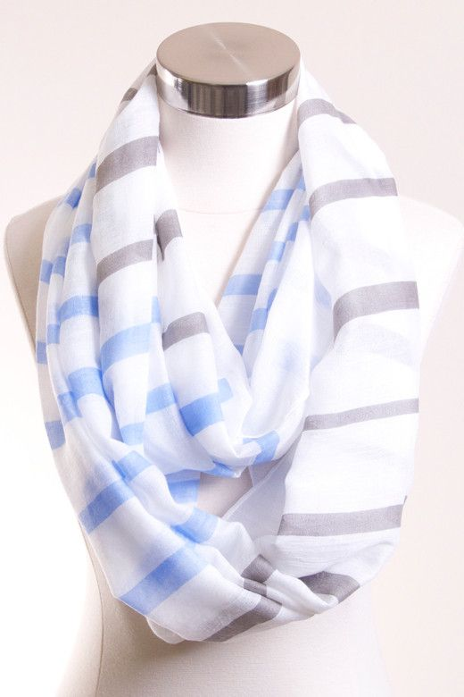 Seeing Stripes Infinity Scarf