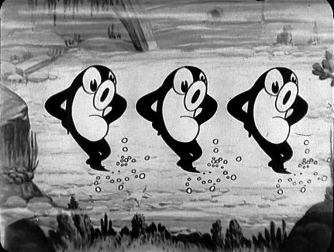 still from the silly symphony u0027frolicking fish u0027 1930 featuring