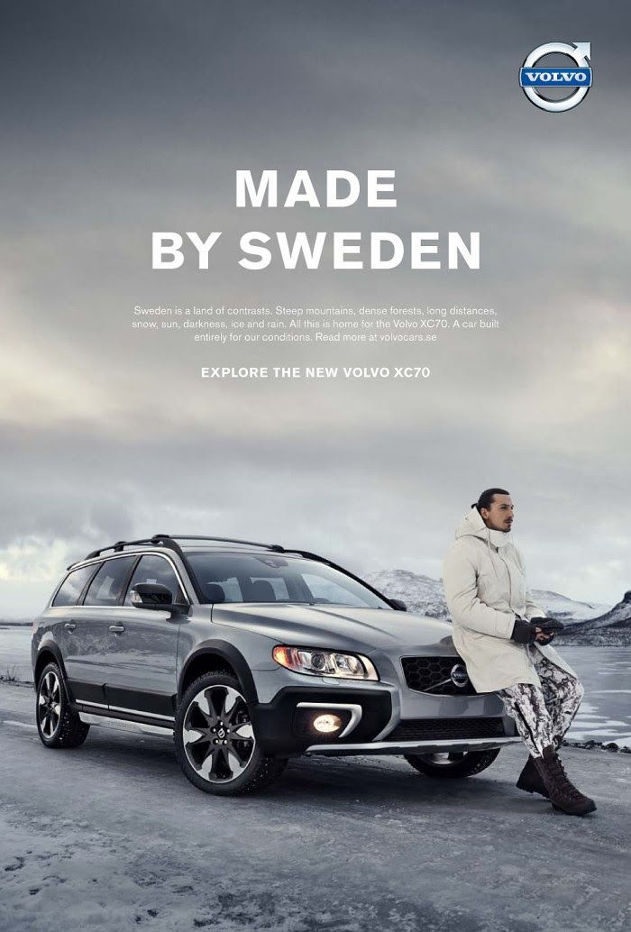 Volvo and Zlatan Ihimovic | Ad, Typo & Illustration | Pinterest
